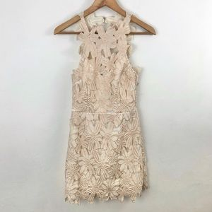 Saylor for Free People Jessa Foil Lace Dress